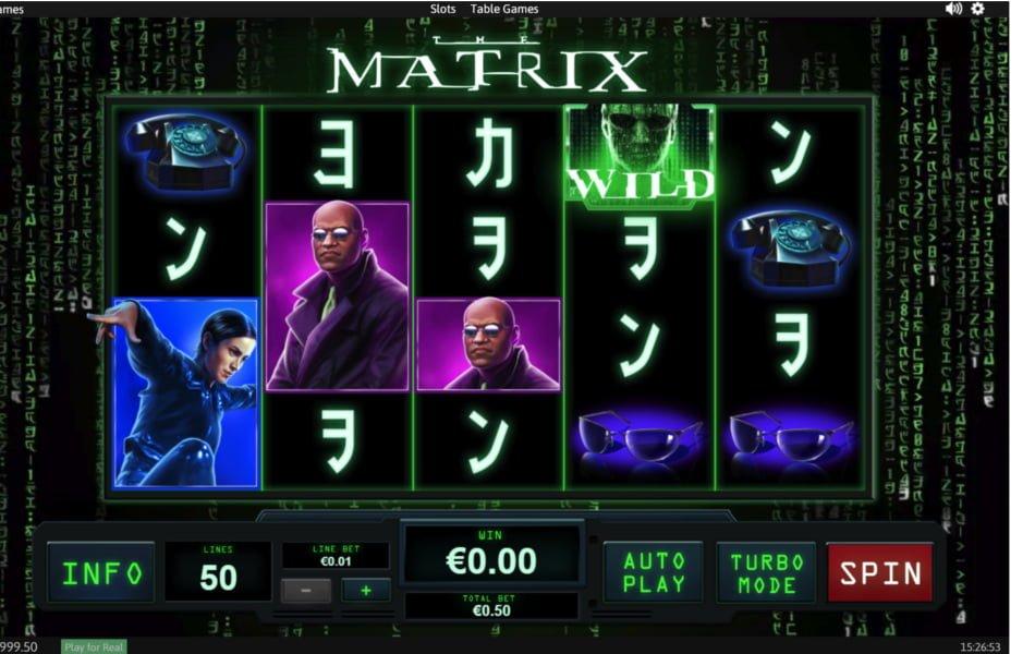 The Matrix Slot - 651722