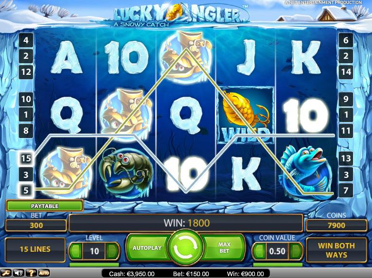 Lucky Angler Slot - 105155