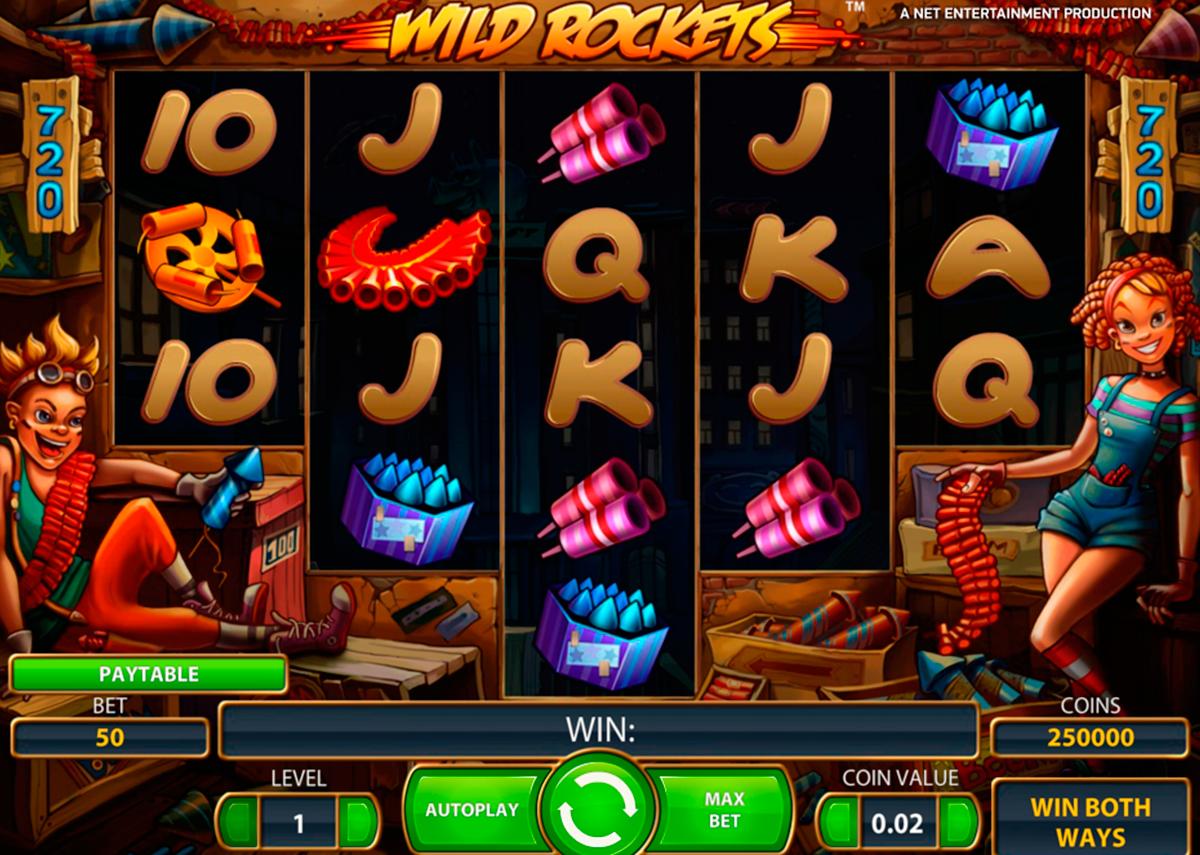 Wild Rockets Slot - 848874