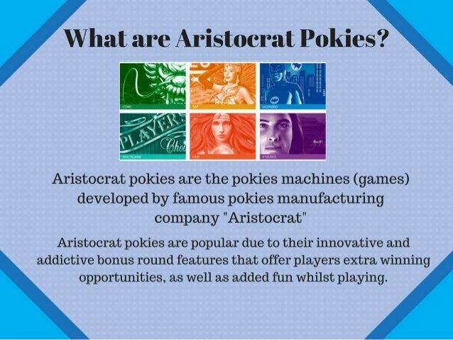 Pokies Aristocrat - 386944