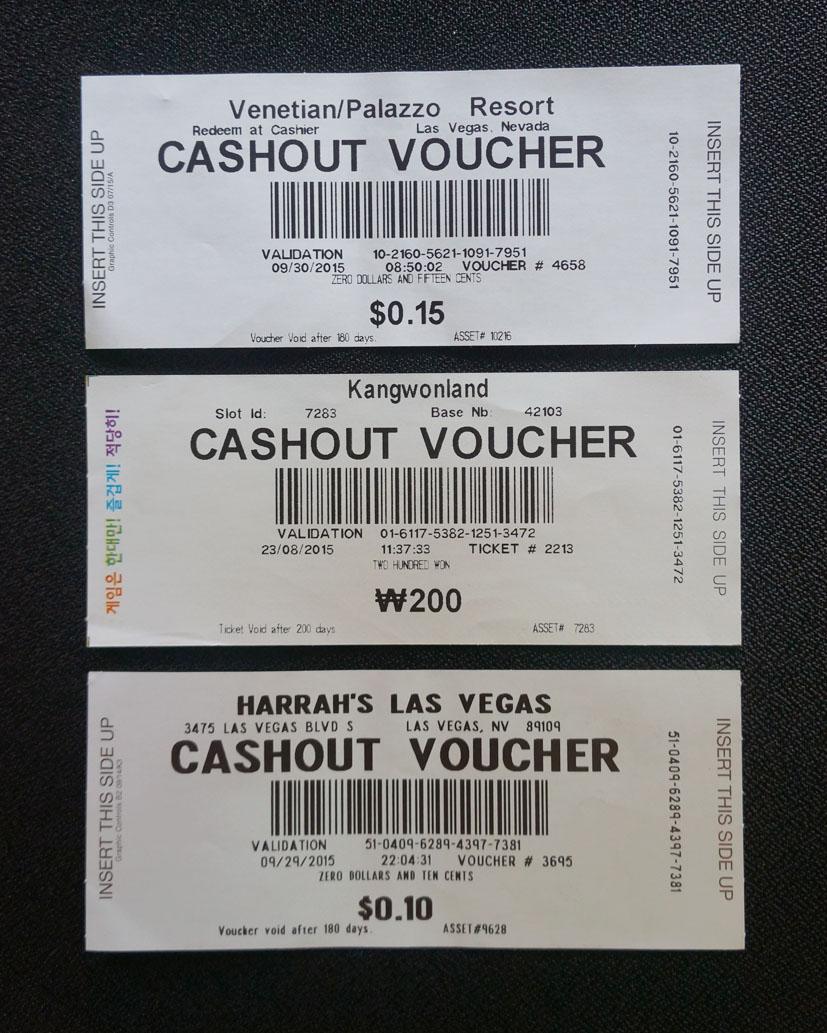 Cash Out Vouchers - 423439