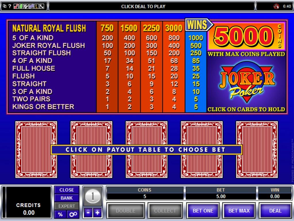 Video Poker - 150594