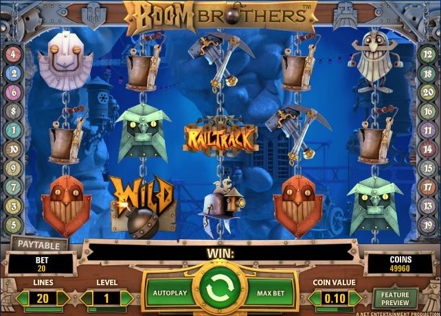 Boom Brothers Slot - 716568