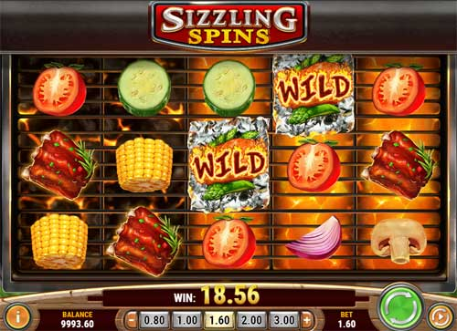 Sizzling Spins Slot - 998840