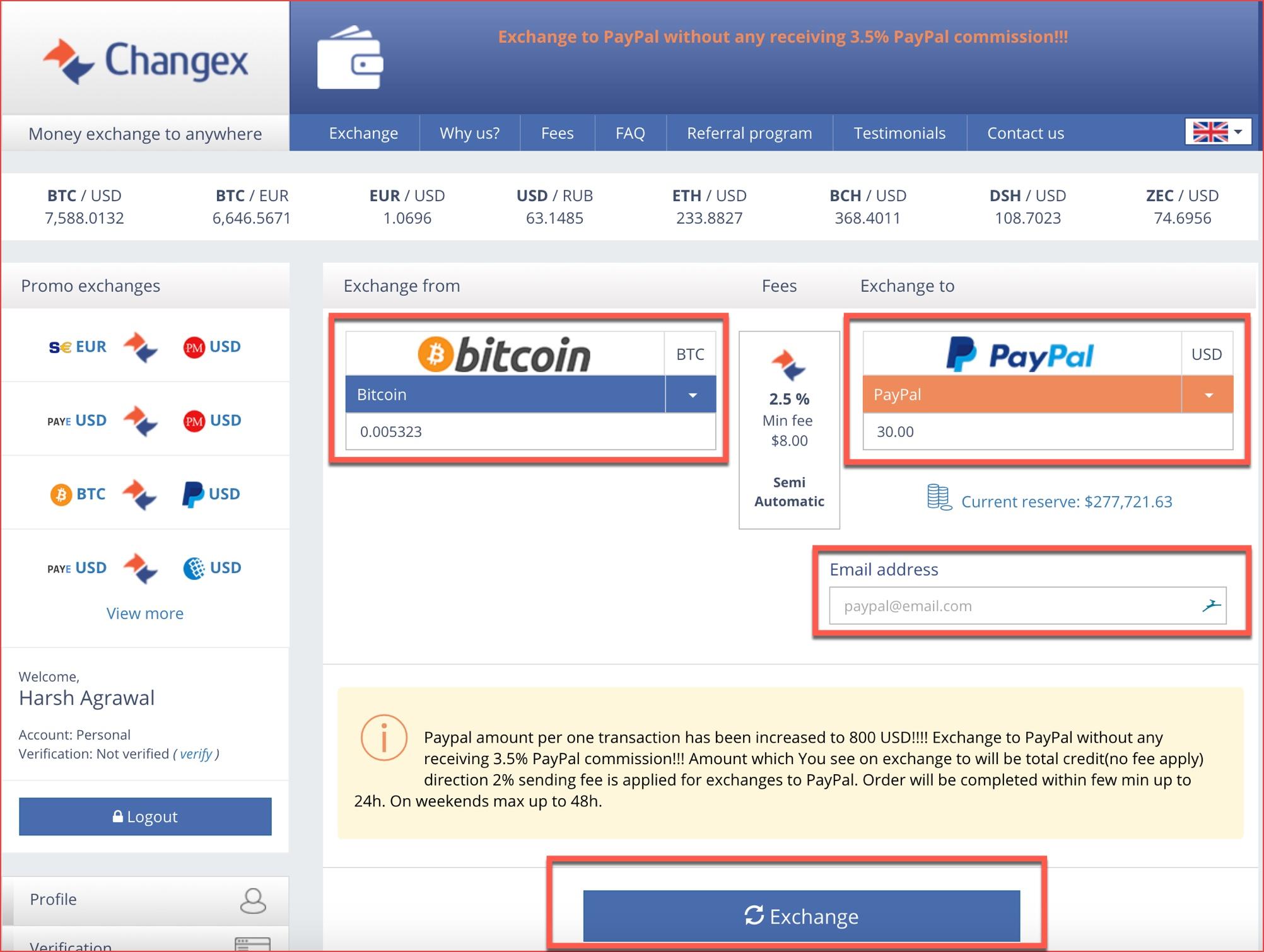 Convert Bitcoins - 567845