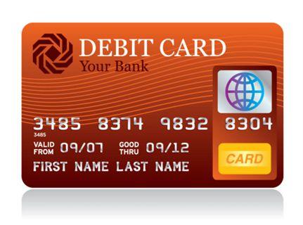 Debit Card Bank - 625346