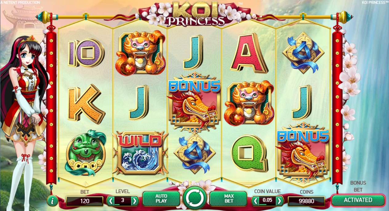 Koi Princess Slot - 974179