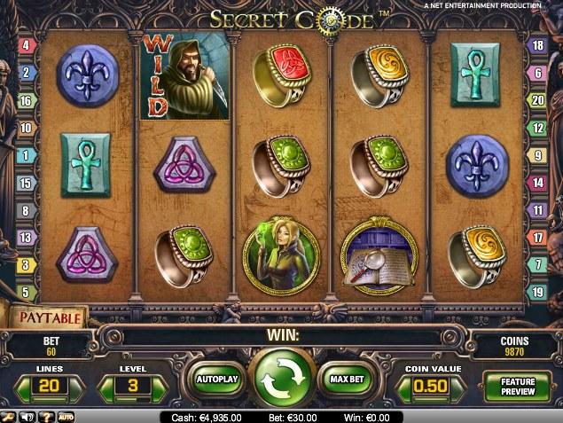 Secret Code Slot - 692712