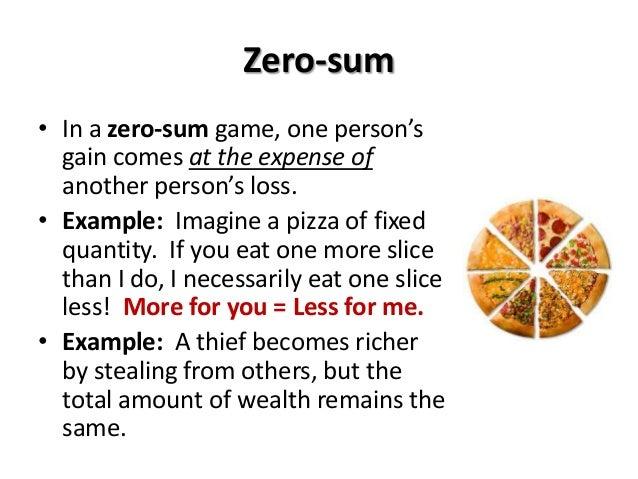 Zero Sum Game - 552332