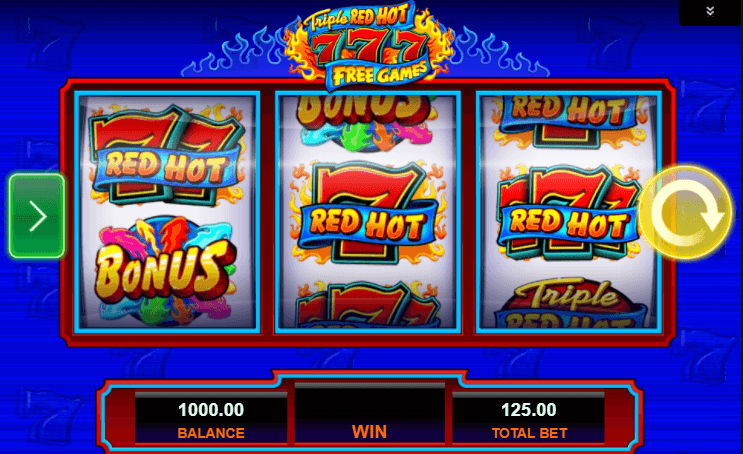 Sizzling Spins Slot - 547800