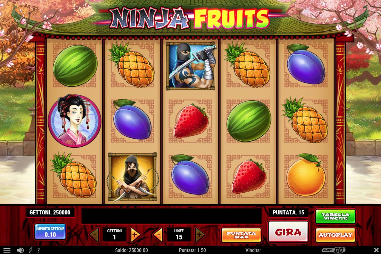 Ninja Fruits - 216586