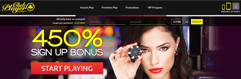 Club Player Bonus - 269225