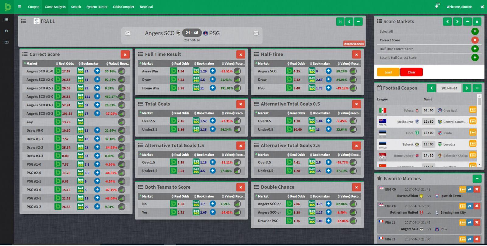 Betting Analytics - 286338