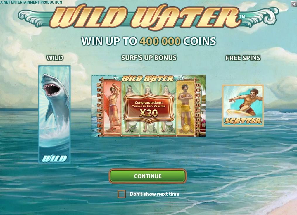 Wild Water Slot - 676528