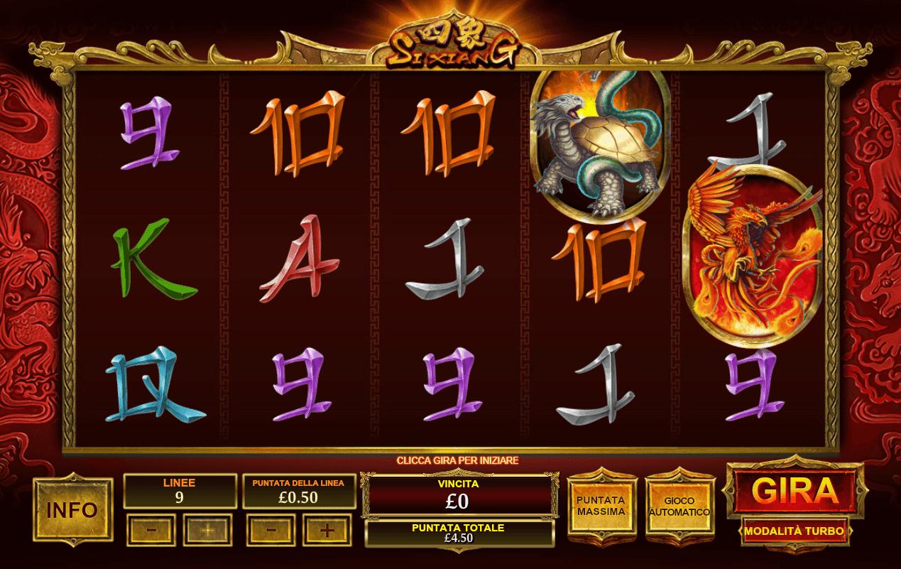 Si Xiang Slot - 769589