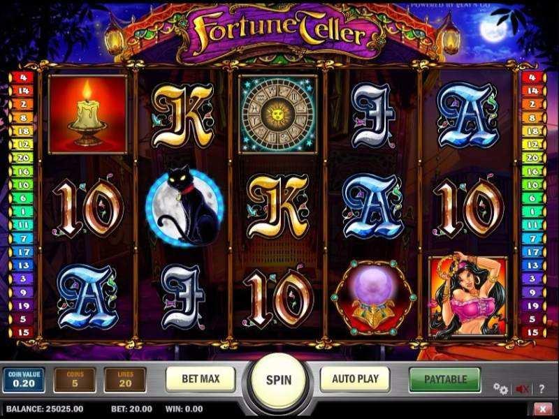 Fortune Teller Slot - 845075