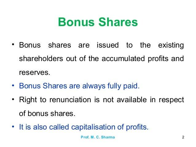 Bonus for Existing - 795424