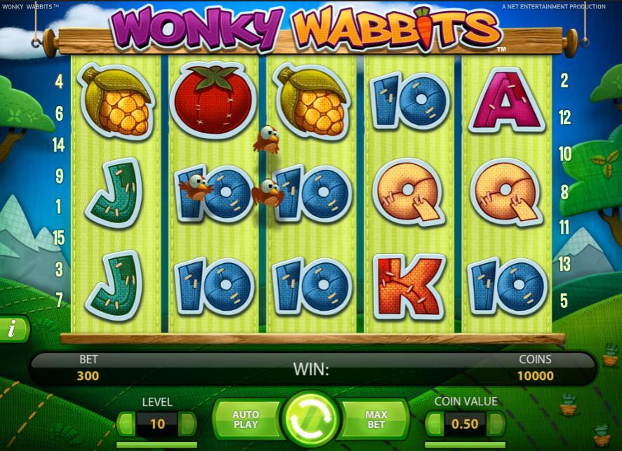 Wonky Wabbits Slot - 593628