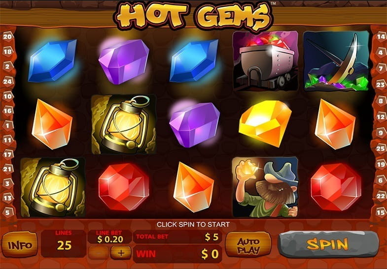 Hot Gems - 898621