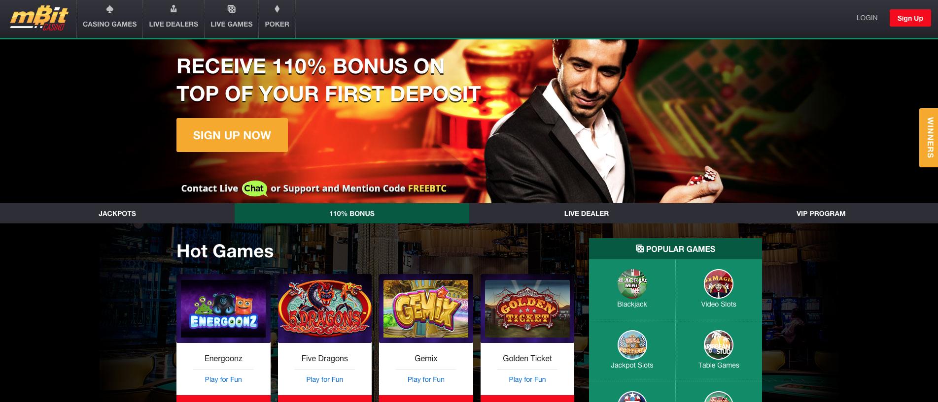Mbit Casino - 233807