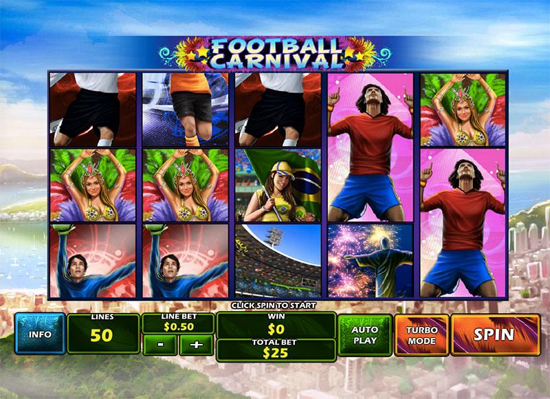 Football Carnival Slot - 345856