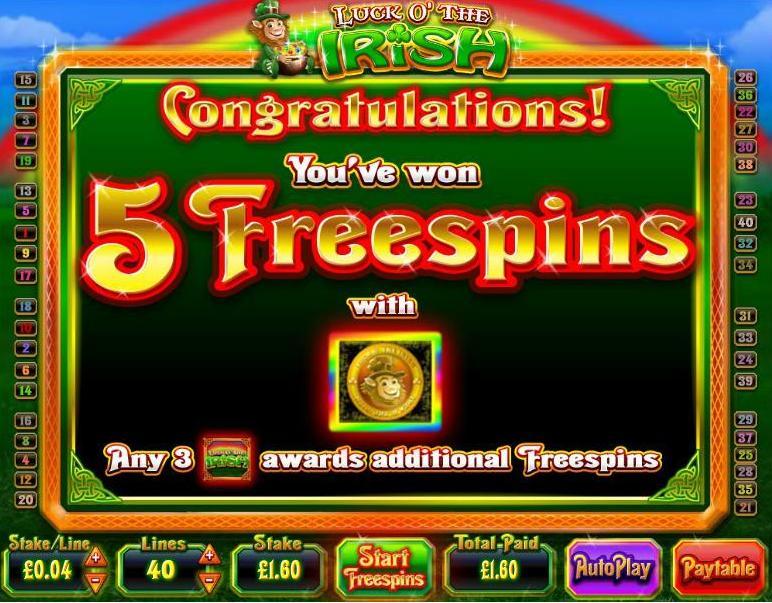 Irish Online Slot - 931807