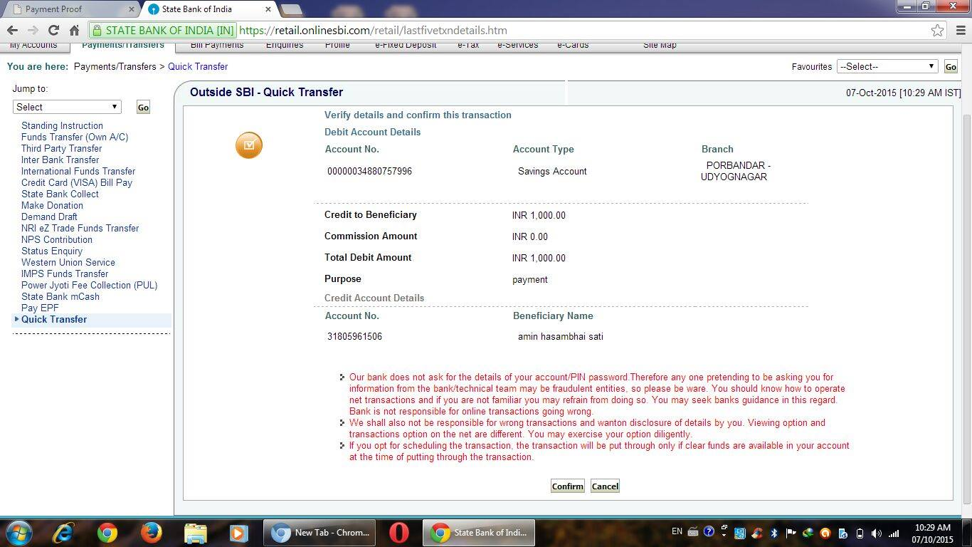 Deposit Proof - 103724