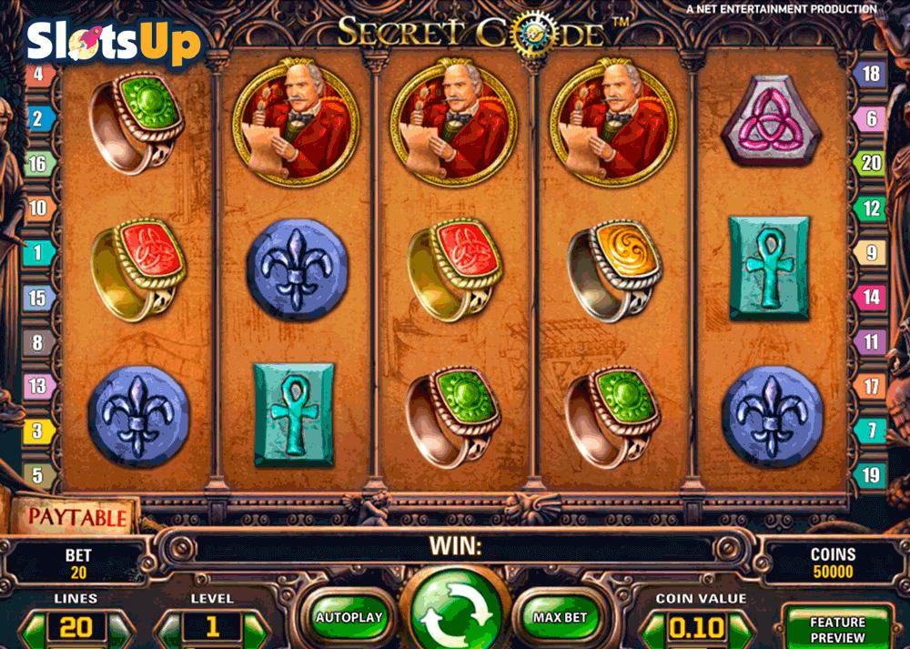Secret Code Slot - 433288