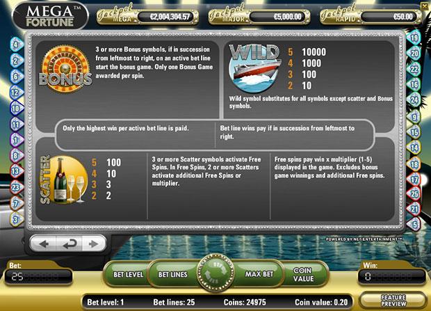 Mega Fortune - 549071
