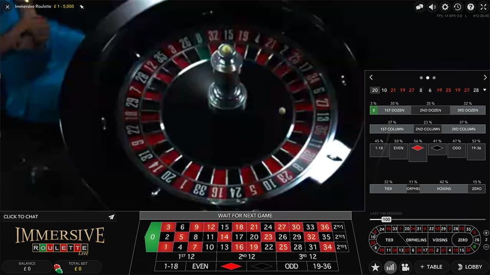Immersive Roulette Sportsbet - 210173