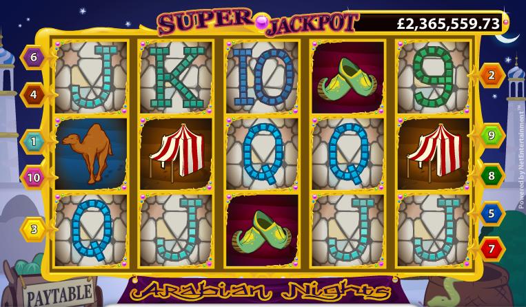 Arabian Nights Slot - 236204