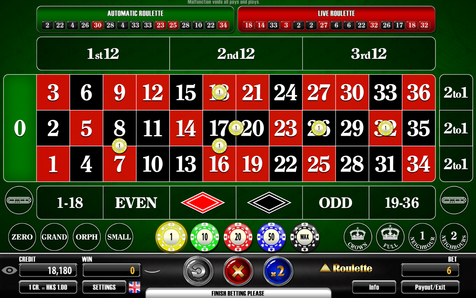 Cheapest Roulette - 134893