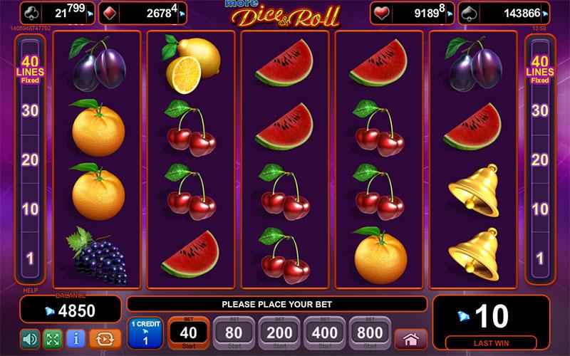 Evolution Slot Winnings - 712126
