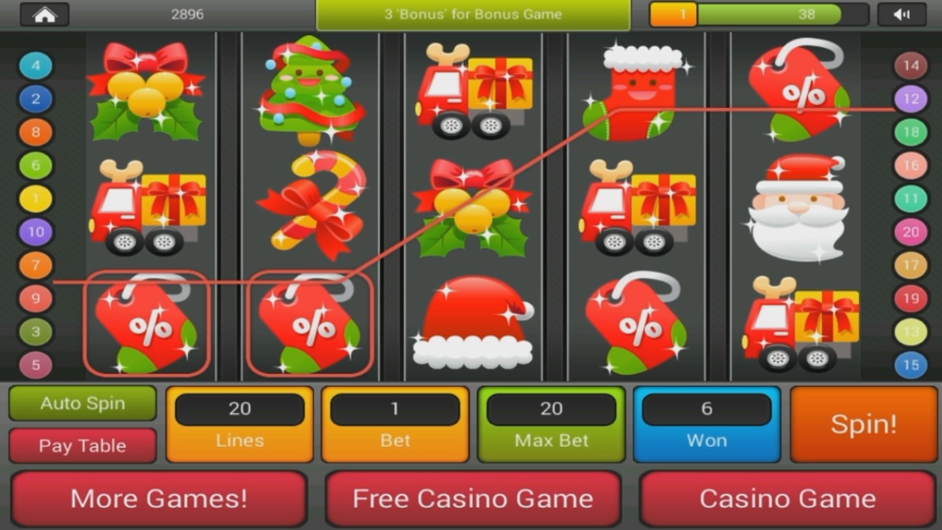 Christmas Casino Slots - 427092
