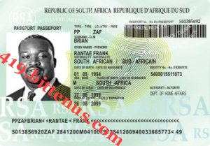 South African With - 769174