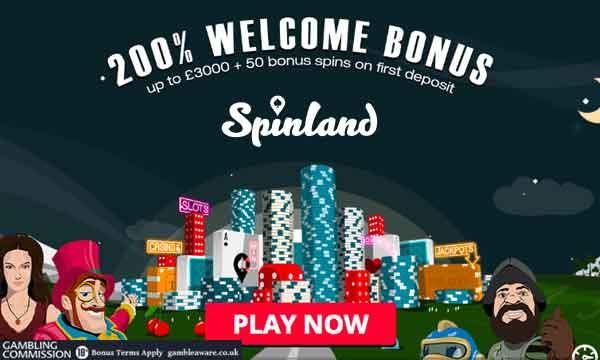 Daily Bonuses Spinland - 558400