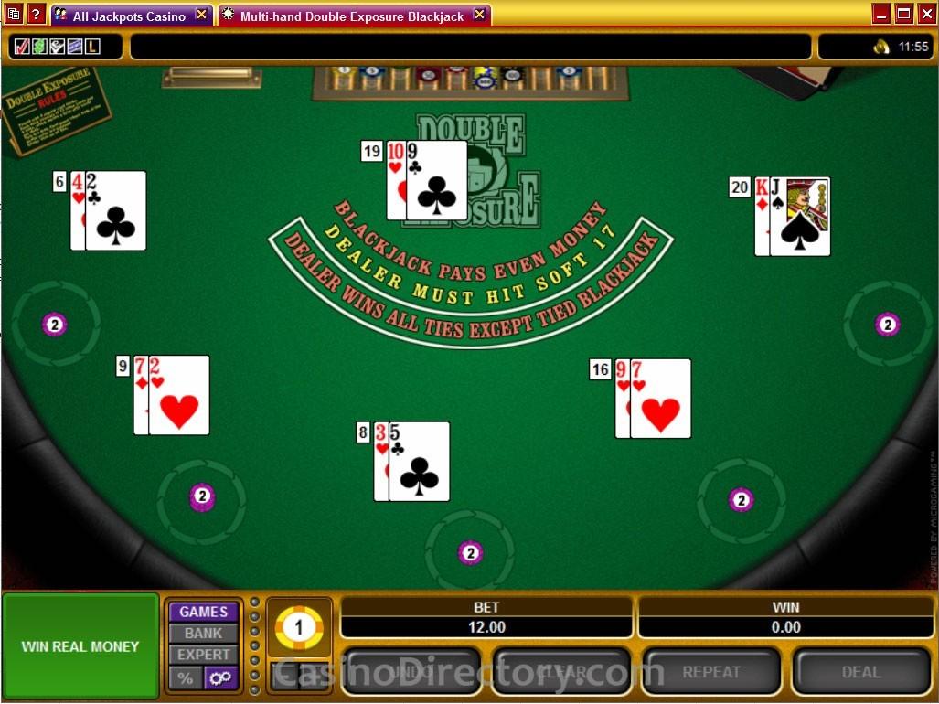 Double Exposure Blackjack - 986271