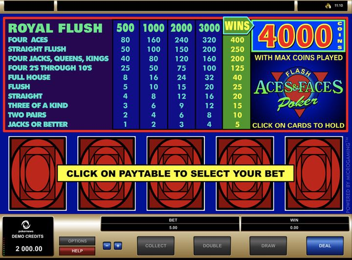 Video Poker Pay - 824136