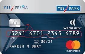 Debit Card Bank - 358104