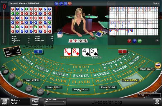 Baccarat Aussie Casino - 377841