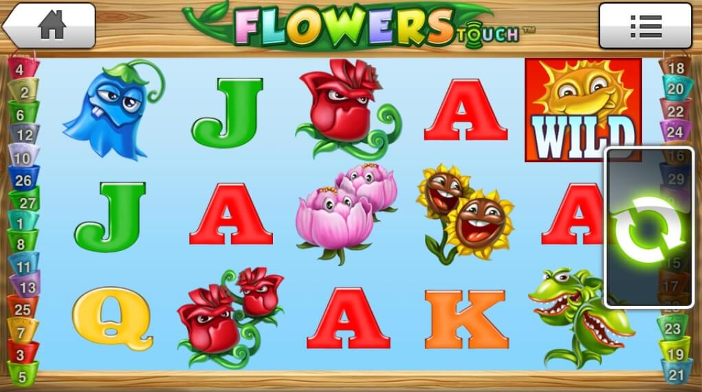 Flowers Slot Benefits - 212026