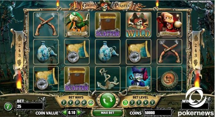 Ghost Pirates Slot - 123037