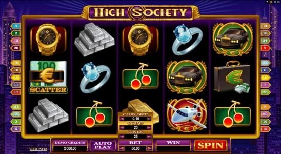 High Society Casino - 336963