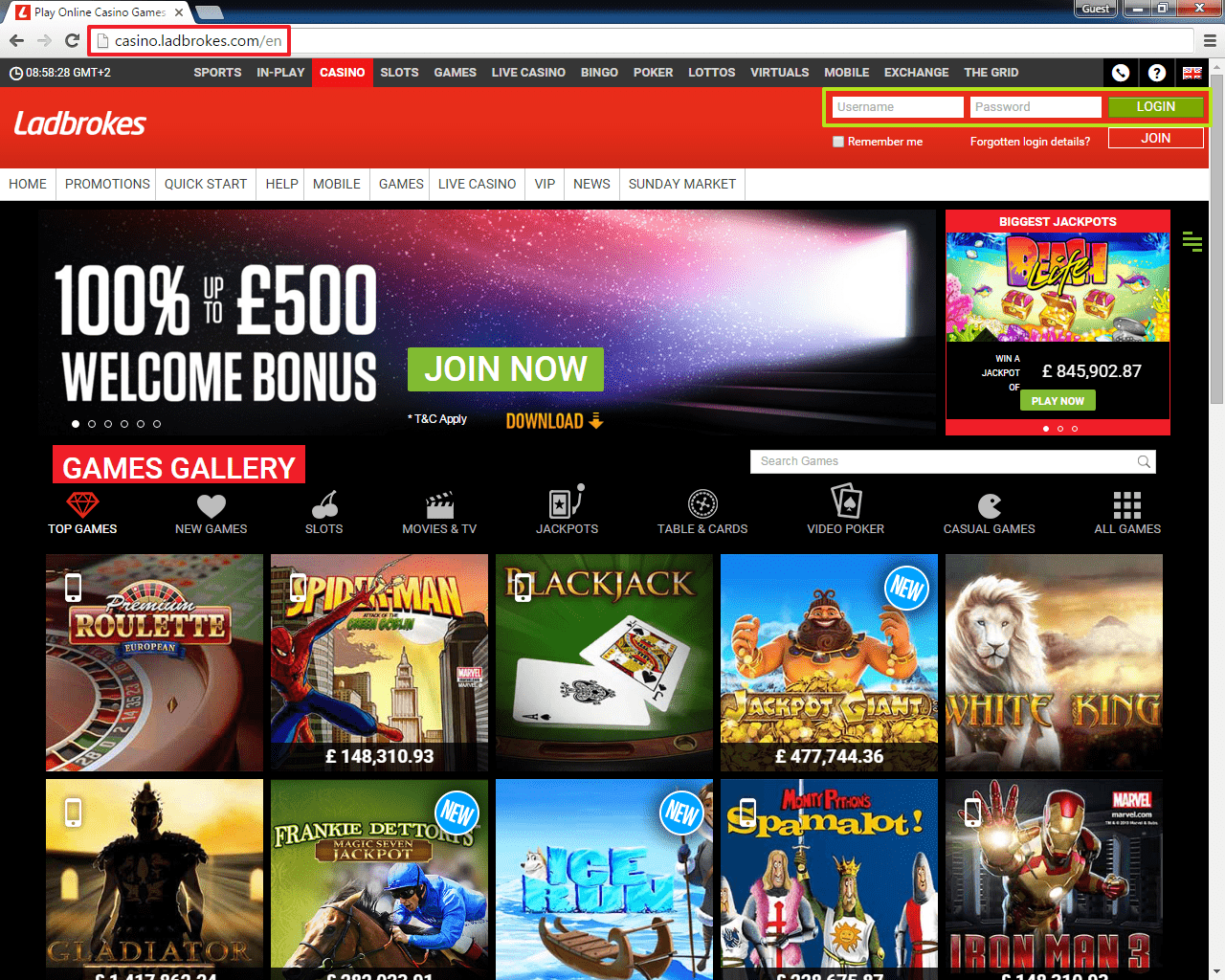 Lost Password Ladbrokes - 305545