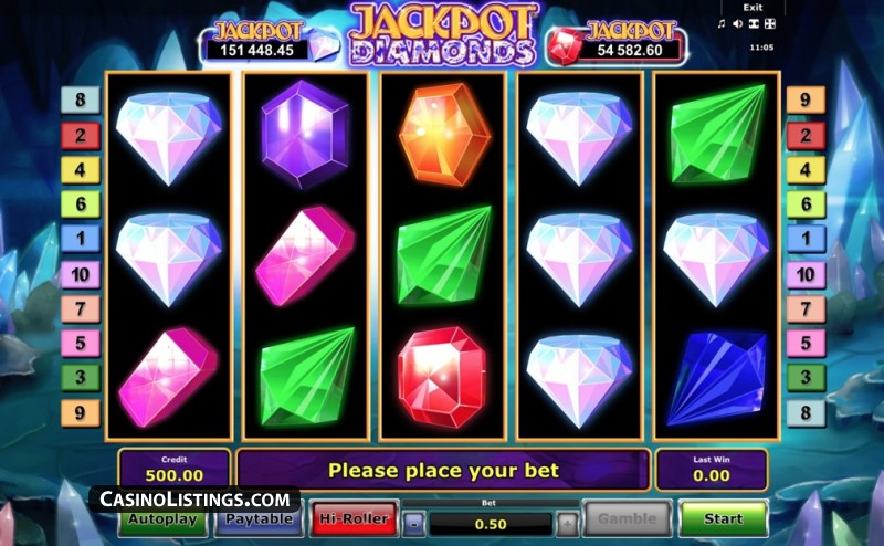 Lucky Diamonds Slot - 218955