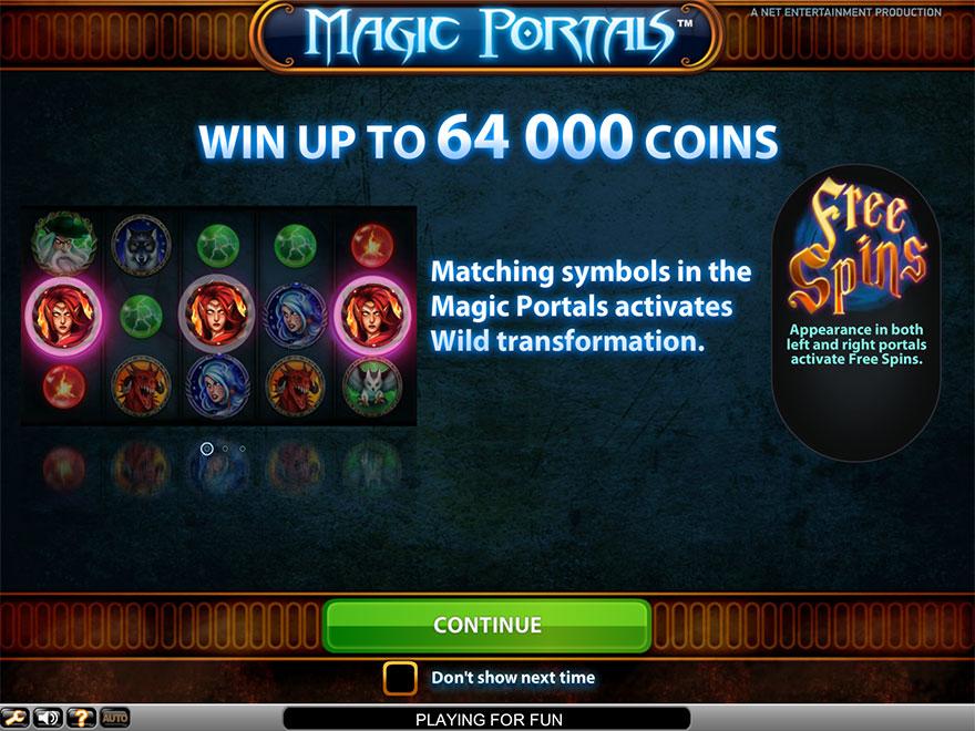 Magic Portals Slot - 487884