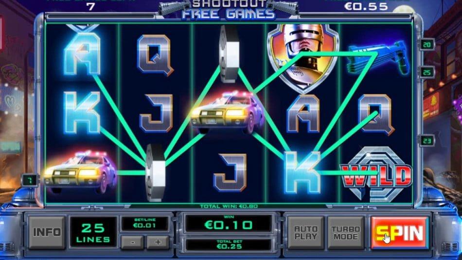 RoboCop Slot Cash - 965034