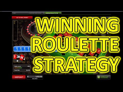 Roulette Strategy to - 723854
