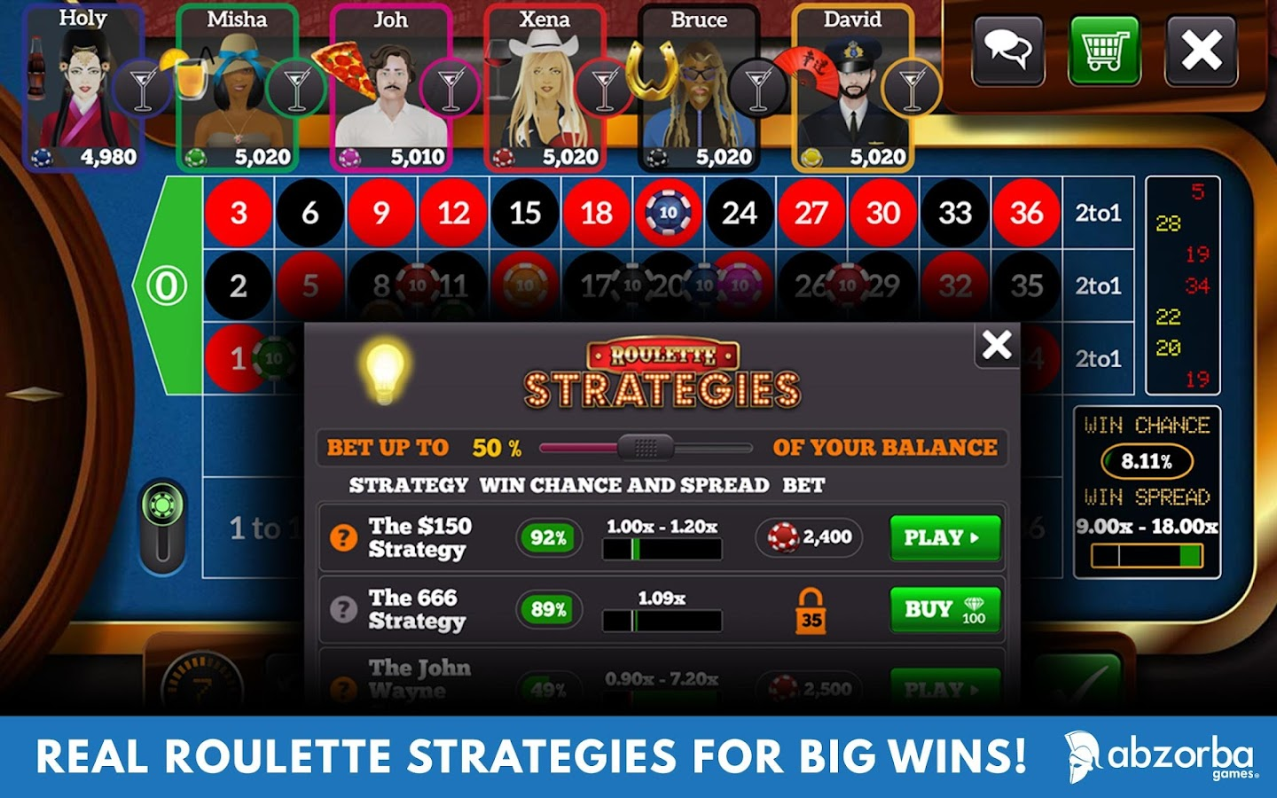 Roulette Strategy - 539483