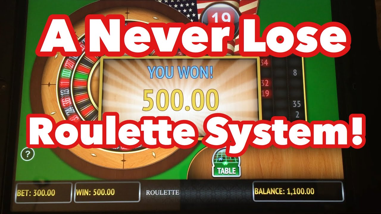 Roulette Strategy to - 805021